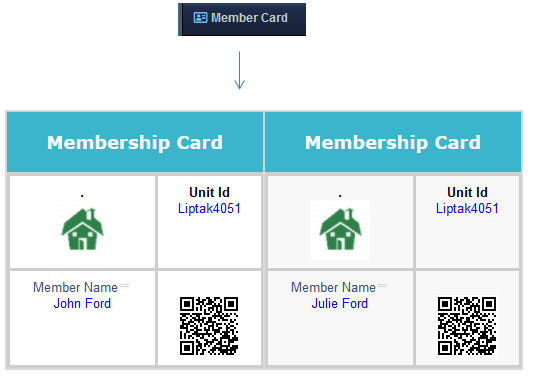 HOA Member Cards in RunHOA